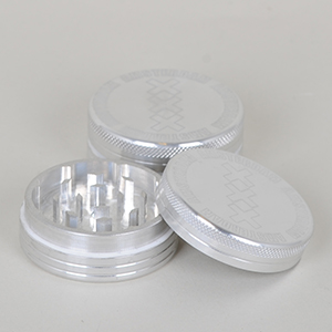 Grinder - Amsterdam 2 part Ø:50mm i sølv