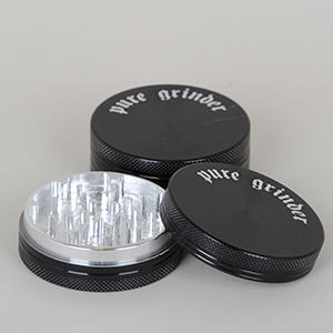 Grinder - Pure 2 part Ø:63mm i sort