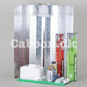 Lampesæt 600W MH + HPS eksl. ledninger