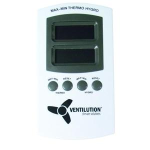 Termometer/Hygrometer til kontrol af temperatur og luftfugtighed
