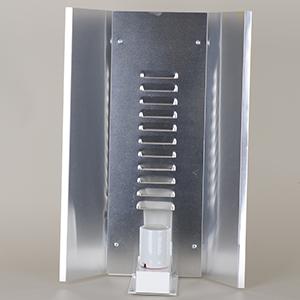 Elektrox Høj Glans CFL Reflektor 34 x 50 cm, inkl. fatning