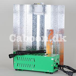 Lampesæt 400W HPS grow + bloom Plug & Play inkl. ledninger