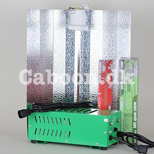 Lampesæt 400W MH + HPS Plug & Play inkl. ledninger