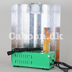 Lampesæt 600W HPS grow + bloom Plug & Play inkl. ledninger
