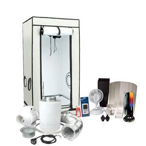 Komplet-sæt, HOMEbox Ambient Q100 par+, inkl. Ventilation kit 250 eco