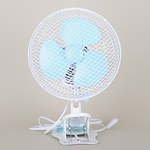Pure Factory - Roterende Clip Fan, Ø:18 cm, 2 speed