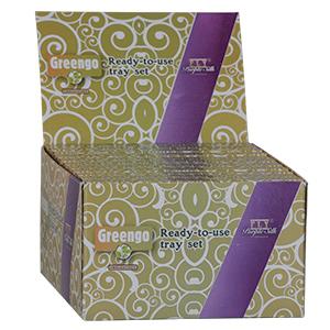 Greengo/FLY: Ready-to-use Tray Set, samlet pakkeløsning, 1 ks