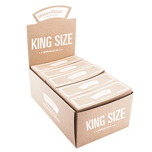 Smokers Choice Filtertips - Brun, king size 1ks
