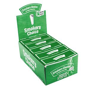Smokers Choice Filtertips - Grøn, king size 1 ks