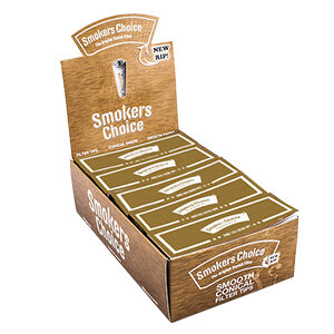 Smokers Choice Filtertips - Guld, king size 1ks