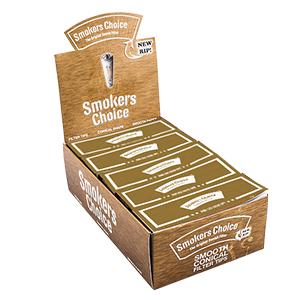 Smokers Choice Filtertips - Guld, king size 1ks