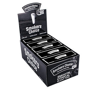 Smokers Choice Filtertips - Sort, blunt size 1ks
