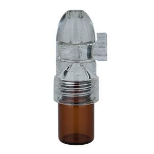 Blaster, lille m. glas bund & plast top