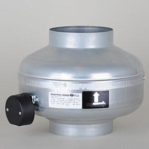 Chaysol Ventilator, i rustfrit stål, Ø:125 mm, 400m3/t