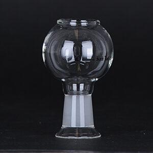 Black Leaf - Glas Dome 14,5 mm