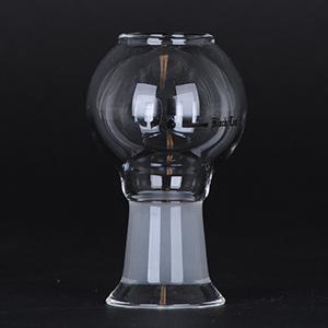 Black Leaf - Glas Dome 18,8 mm