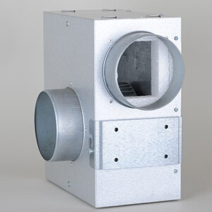 KSA Ventilator Box, m. lydisolering, Ø:125mm, 530m3/t
