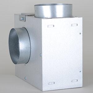 KSA Ventilator Box, m. lydisolering, Ø:160mm, 730m3/t
