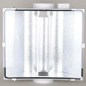 PK - SPUDNIK, air-cooled reflektor, Ø:150mm, max 1000W