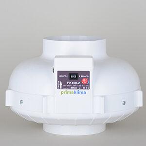 PK Ufo Ventilator, 2speed 420m³/t & 800m³/t, Ø160mm