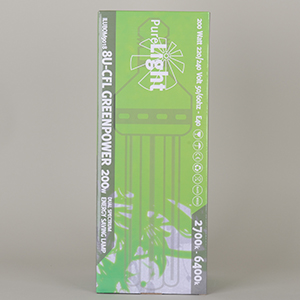 Pure Light - 200W Dual-CFL, sparepære