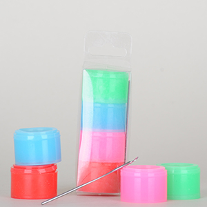 """4stk Pakke - """"Glow-in-the-dark"""" Non-Stick Container"""