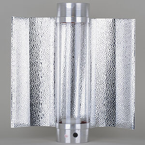 Cool-Tube 125mm x 400mm, inkl. ekstern batwing reflektor