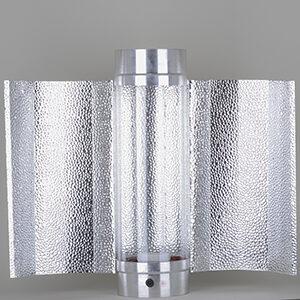 Cool-Tube 150mm x 400mm, inkl. ekstern batwing reflektor