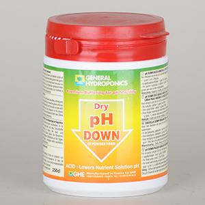 GHE pH Down 250g, pulver
