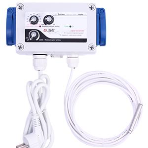 GSE Styring Temperatur & Vakuum