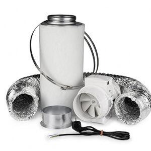 Ventilution Komplet Udsugning Kit, 125mm, 220/280 m³/t, eco