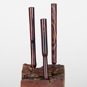 Luksus Jointrør - Cocobolo 8 cm, stor gennemgang