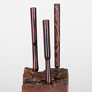 Luksus Jointrør - Cocobolo 8 cm